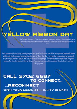 Yellow Ribbon Day Campaign